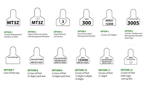 CCK sells ZTag small animal custom tags