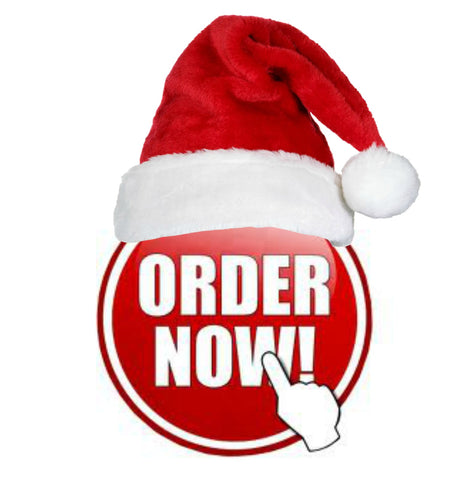 cck order now santa hat button