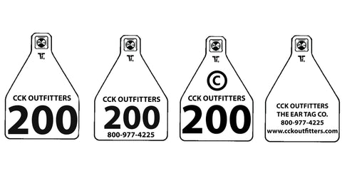 temple row tags sold by CCK Outfitters