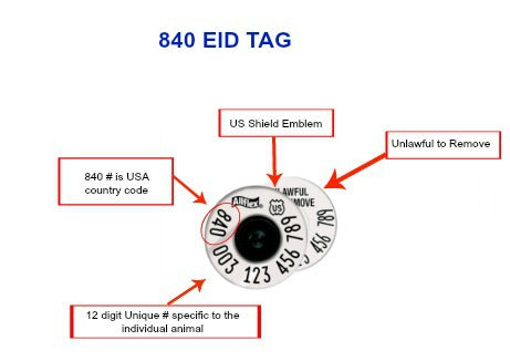 CCK sells 840 EID ear tags