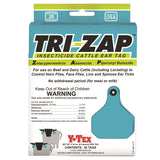 Y-TEX TRI-ZAP Insecticide Ear Tags with Buttons (20/box)