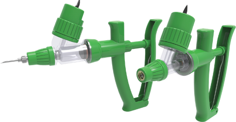 Simcro BMV Bottle Mount Variable Dose Injector