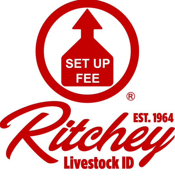 RITCHEY LOGO Set-up Fee for first time order of Custom Ear Tags