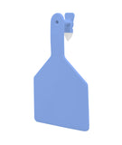 ZTAG Cow Blank Ear 1 piece Ear Tag (25/bag)