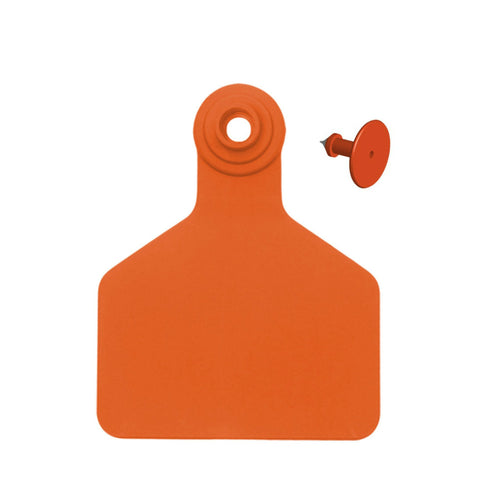 Z Tag Z2 2-piece Blank Large Calf Ear Tags with Buttons (25/bag)