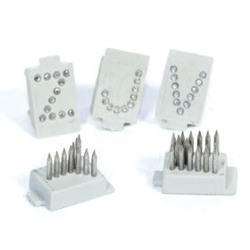 "STONE 3/8"" Tattoo Letter Set A-Z"