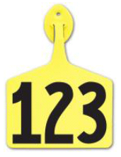 Allflex Feedlot Numbered Tags (50/bag)