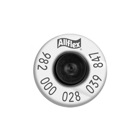 ALLFLEX 982 HDX High Performance Half Duplex Tamperproof White EID Ear Tags with Extended Buttons (20/bag)