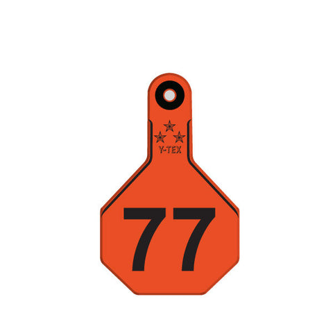 Y-TEX Medium Numbered 1 Side Row Tag