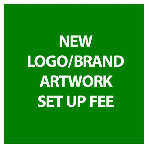 New Logo/Brand Set Up Fee