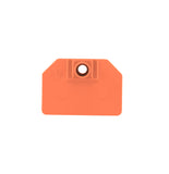 TEMPLE TAG Herdsman Small Goat Blank Ear Tag with Blank Button (25/bag)