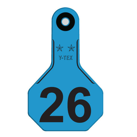 Y-TEX Small Numbered Row Tag