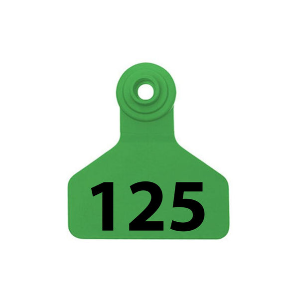 Z Tag Stockman 2-piece Numbered Medium Tag Only (no button)