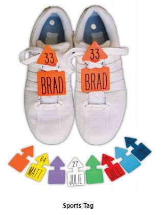 Customized Tennis Shoe Tags