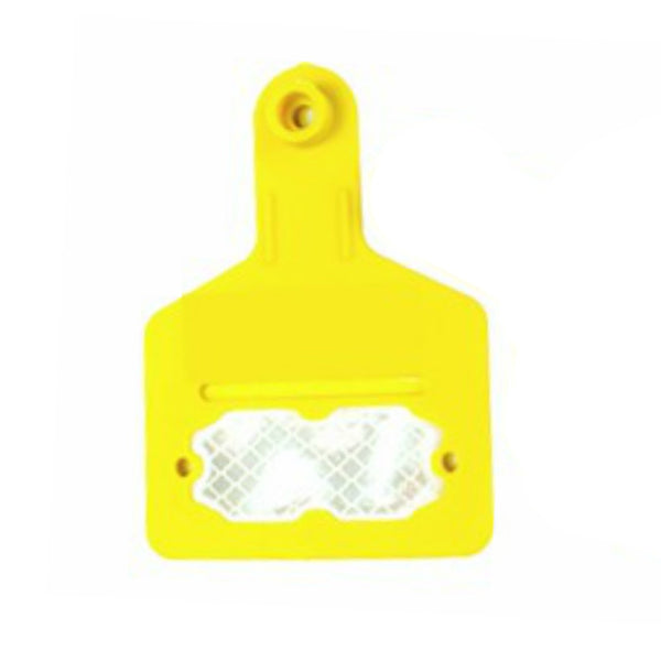 Medium Blank Reflective Ear Tags with out buttons (10/bag)