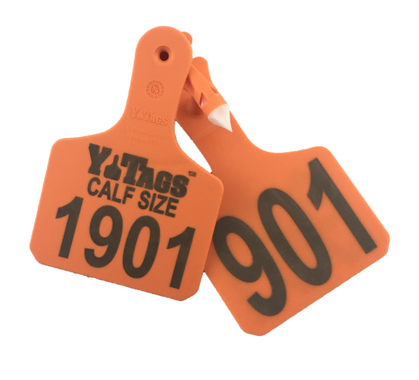 Y-TEX Y-Tags 1 pc Calf Custom 2 sides Ear Tags