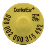 Temple Comfortear FDX EID Ear Tag with Extended Button (25/Bag)