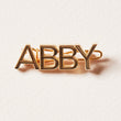 Say Anything Barrette - Personalized