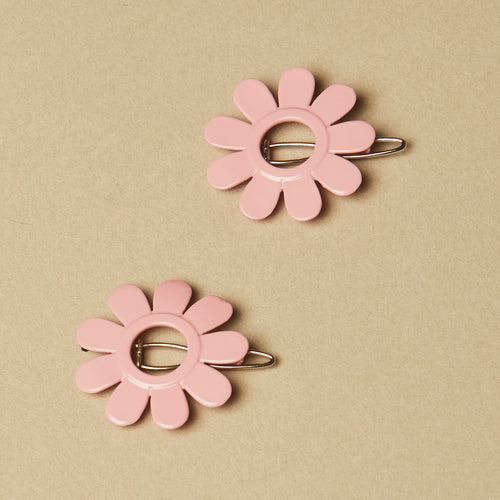 Rose Caroline Barrette Set