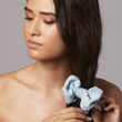 Two-toned Denim Madison Scrunchie