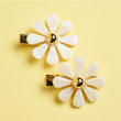 Flower Barrette Set