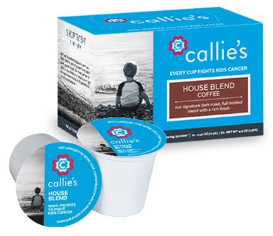 Callie's Coffee - Dark Roast Bold K Cups for Keurig - Free Shipping - Fight Kids Cancer - Seattle Children's Cancer Research Institute - Ben Towne Center