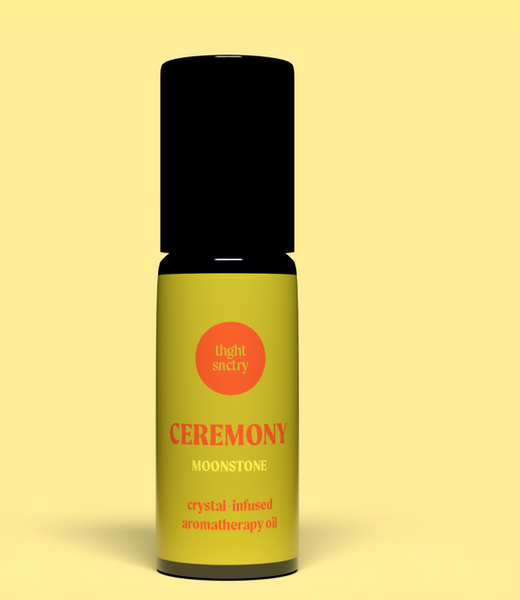 thght snctry crystal oil: ceremony