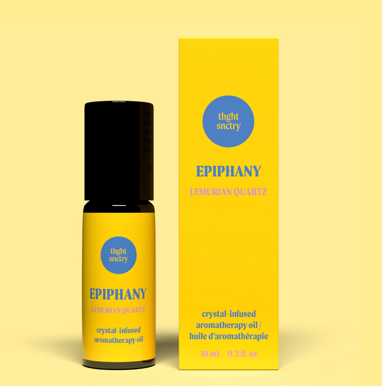 thght snctry crystal oil: epiphany oil