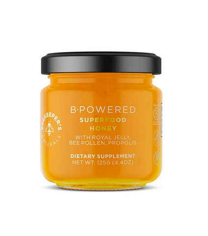 beekeeper's naturals b.powered superfood honey 125g