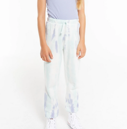 z supply girls palmer tie dye jogger