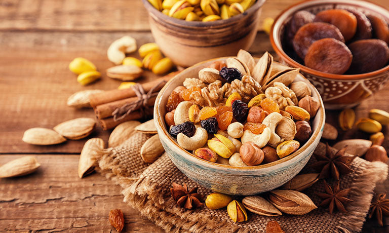 6 Dry Fruits and Nuts For Good Health