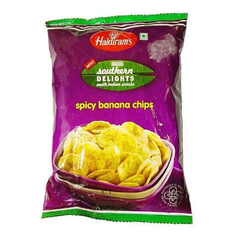 Haldiram's Southern Delights Spicy Banana Chips 200 gm - Sabadda - Indian Online Grocery Store in UK