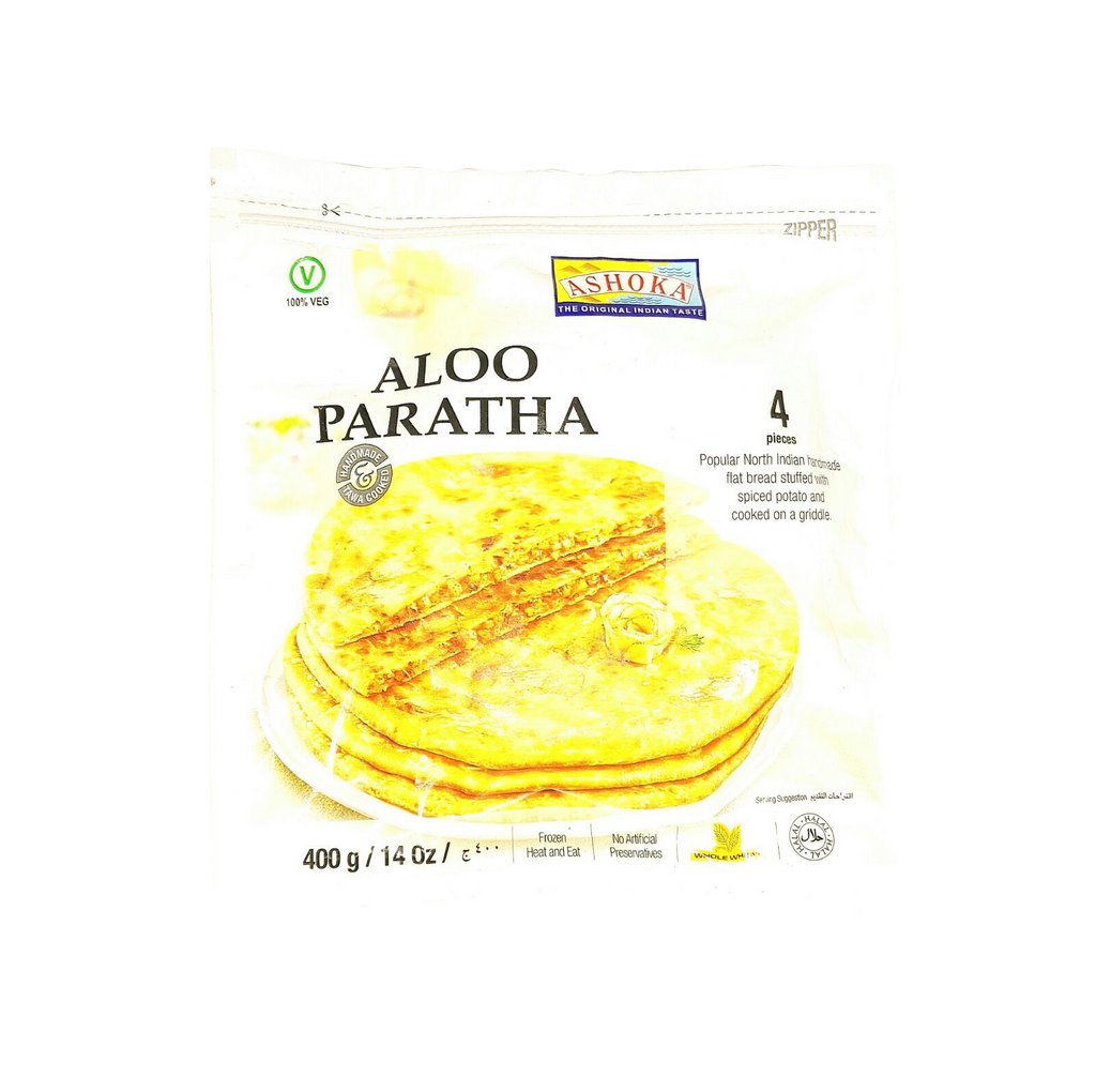 Ashoka Aloo Paratha 400 gm - Sabadda - Indian Online Grocery Store in UK