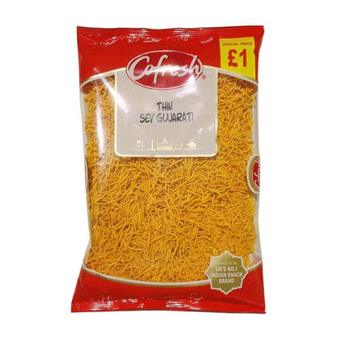 Cofresh Thin Sev Gujarati 300 gm - Sabadda - Indian Online Grocery Store in UK