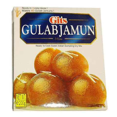 Gits Gulab Jamun Mix 200 gm - Sabadda - Indian Online Grocery Store in UK
