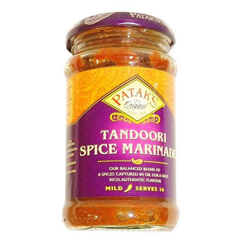 Patak's Tandoori Spice Marinade 312 gm - Sabadda - Indian Online Grocery Store in UK