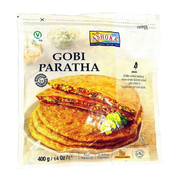 Ashoka Gobi Paratha 400 gm - Sabadda - Indian Online Grocery Store in UK