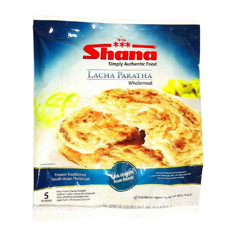 Shana Lacha Paratha 400 gm - Sabadda - Indian Online Grocery Store in UK