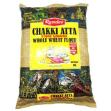Ramdev Chakki Atta Stone Ground Whole Wheat Flour 5 kg - Sabadda - Indian Online Grocery Store in UK