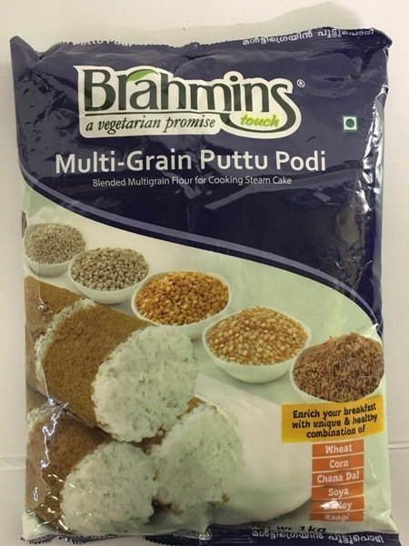 Brahmins Foods Multigrain Puttu Powder 1 KG - Sabadda - Indian Online Grocery Store in UK