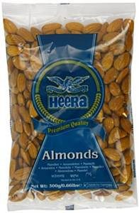 Heera Almonds 300gm - SabAdda - Asian Grocery Store