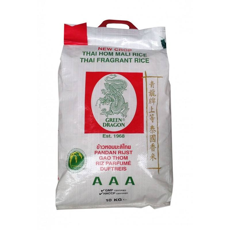 Green Dragon Thai Fragrant Rice 10kg - Sabadda - Indian Online Grocery Store in UK
