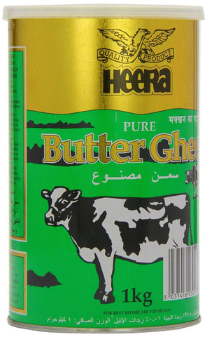 Heera Butter Ghee 1kg - SabAdda - Asian Grocery Store