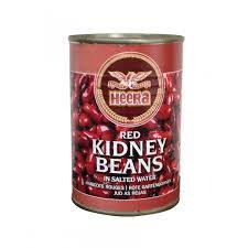 Heera Red Kidney Beans Tin 400gm - SabAdda - Asian Grocery Store