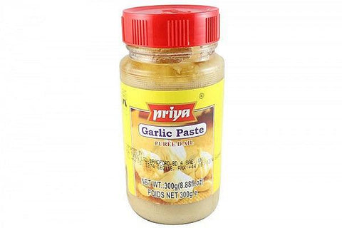 Priya Garlic Paste 300 gm - Sabadda - Indian Online Grocery Store in UK