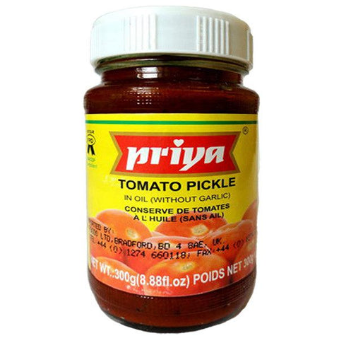 Priya Tomato Pickle 300 gm - Sabadda - Indian Online Grocery Store in UK