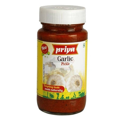 Priya Garlic Pickle 300gm - Sabadda - Indian Online Grocery Store in UK