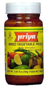 Priya Mixed Veg Pickle 300gm - SabAdda - Asian Grocery Store