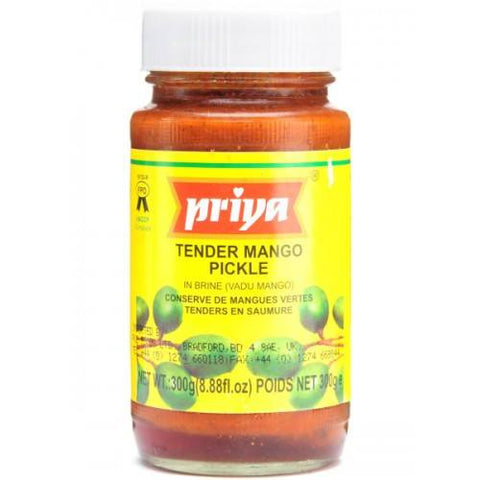 Priya Tender Mango Pickle 300 gm - Sabadda - Indian Online Grocery Store in UK