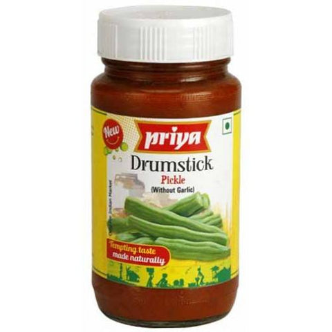 Priya Drum Stick Pickle 300gm - SabAdda - Asian Grocery Store